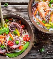 The Kitchen of Thai Restaurant,Cluster C, Jumeirah Lake Towers (JLT)