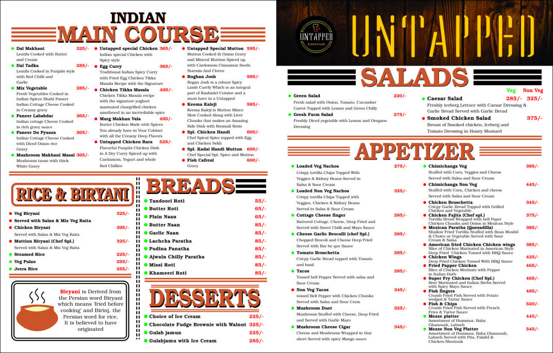 Untapped, Sector 21, Gurgaon