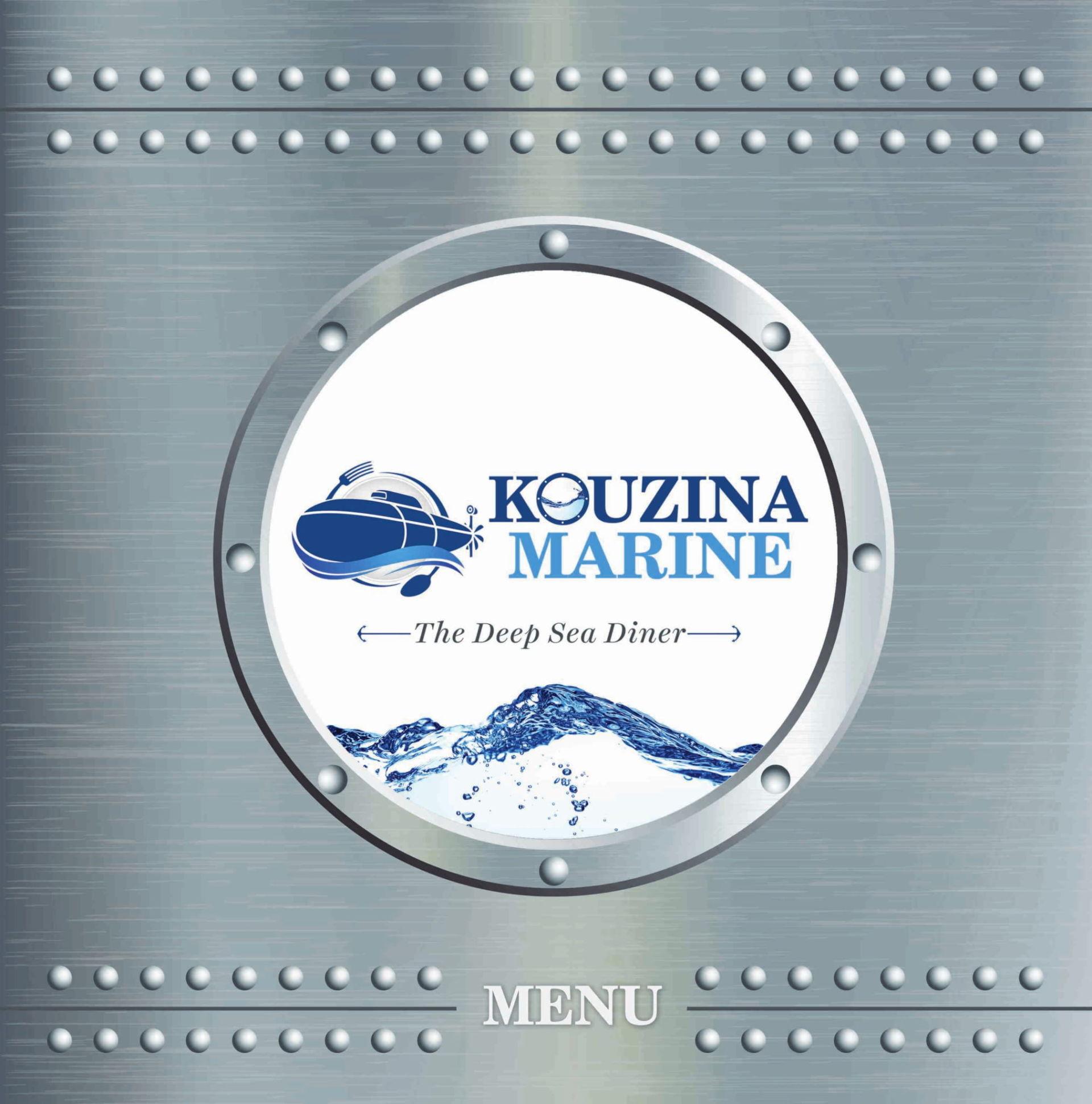Menu of Kouzina Marine, Sector 1, Salt Lake, Kolkata   EazyDiner
