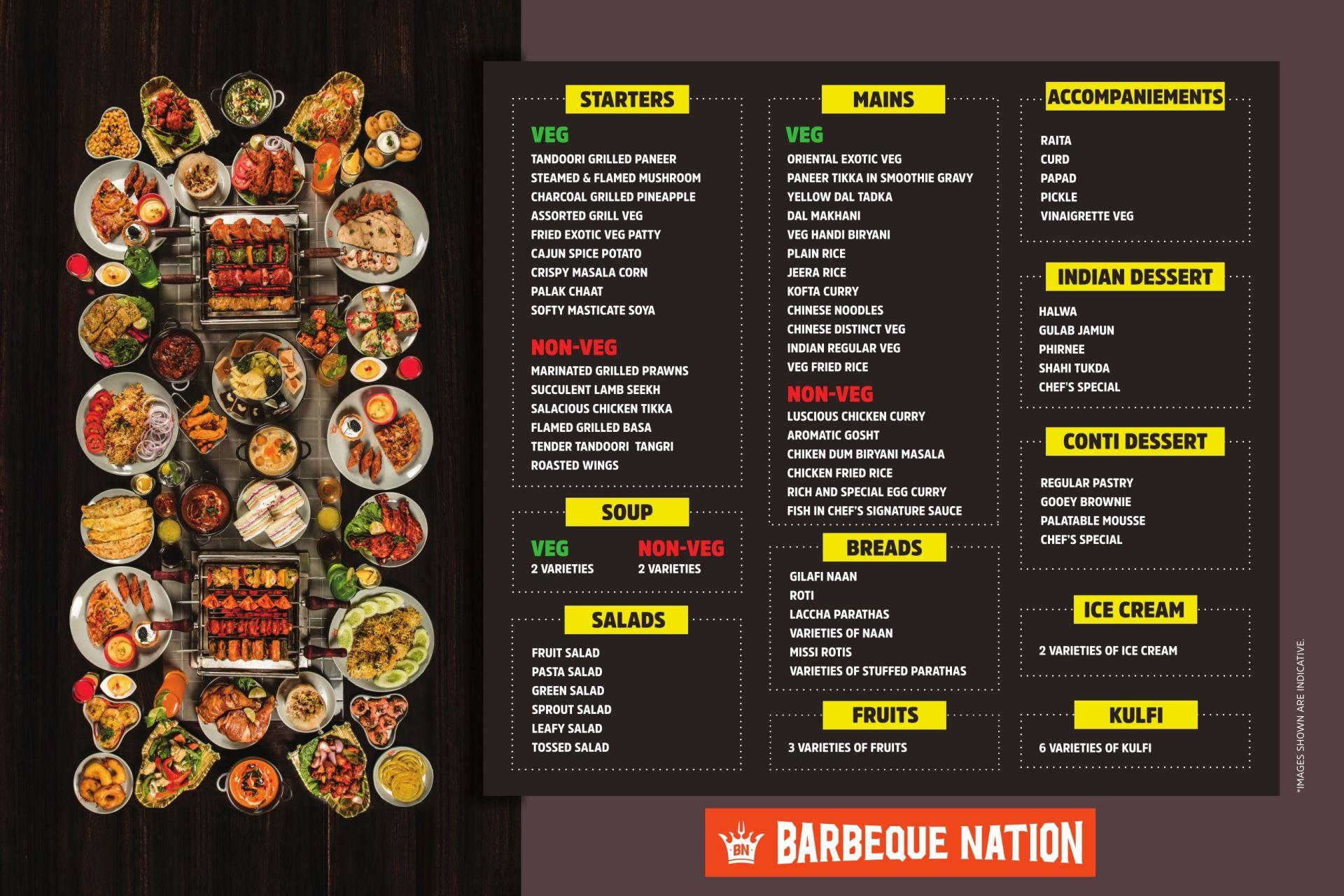 Barbeque Nation, Lake Mall, Rash Behari Avenue