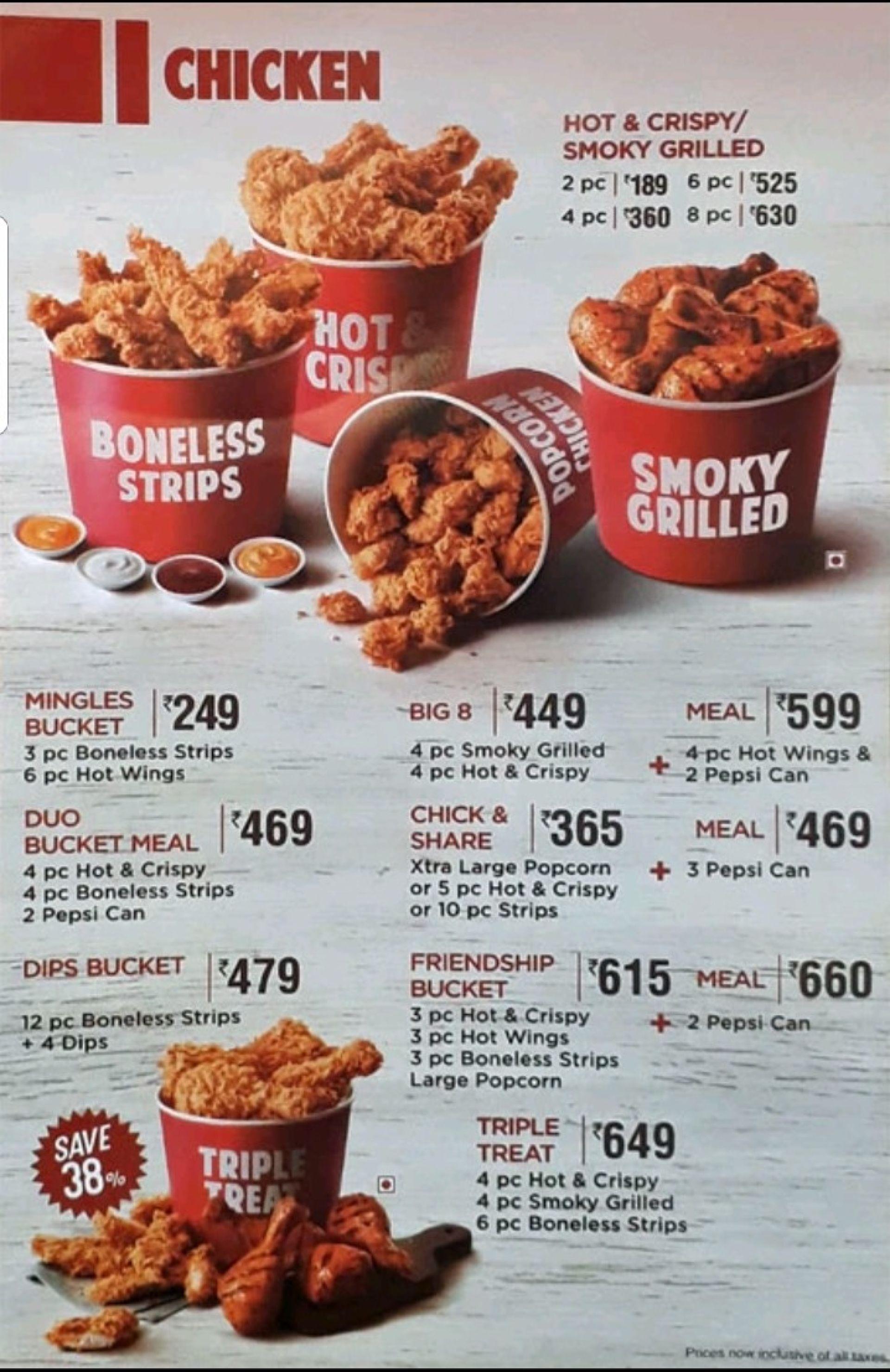 KFC, Nungambakkam, Chennai, Chennai Restaurants, Menu and ...