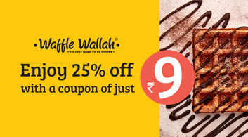 Waffle Wallah offers in Delhi-NCR
