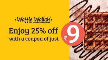 Waffle Wallah offers in Kolkata