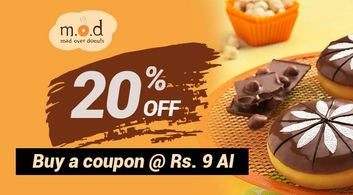 Mad Over Donuts offer in Pune