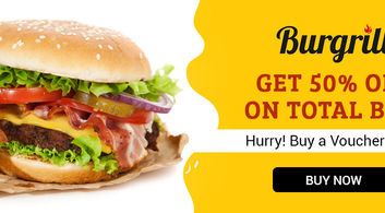 50% off at Burgrill in Chandigarh
