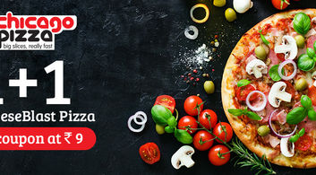 1+1 offer at Chicago Pizza!