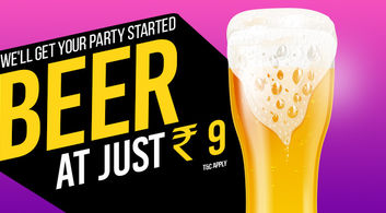 Beer @ JUST Rs. 9