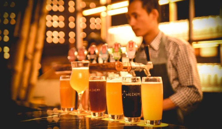 Alchemy, Chancery Pavilion Launches with Australian Beer Brand